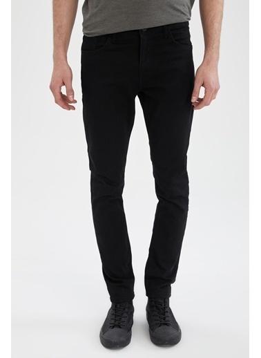 DeFacto Martin Super Skinny Fit Jean Pantolon Siyah